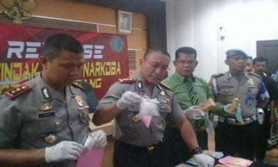 Pengungkapan Narkoba di Tangerang