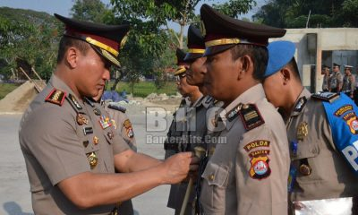 Kapolresta Tangerang Lantik Dua Pejabat Baru