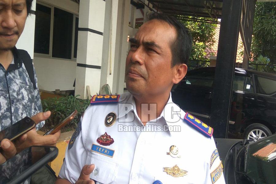 Kepala KSOP Banten Yefri Meidison