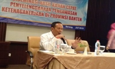Kepala Ombudsman Banten Bambang Purwanto Sumo