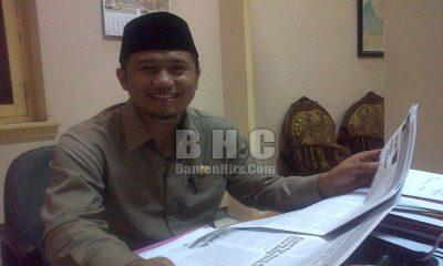 Ketua DPRD Lebak Junaedi Ibnu Jarta