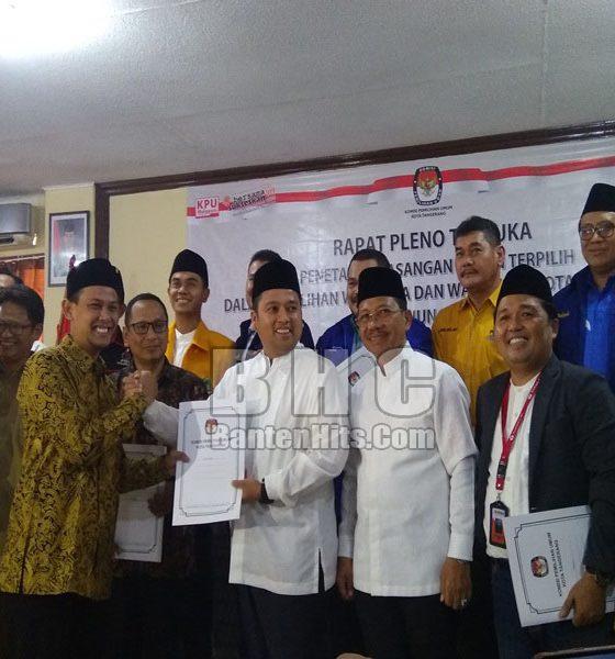 Penetapan Wali Kota Tangerang Terpilih