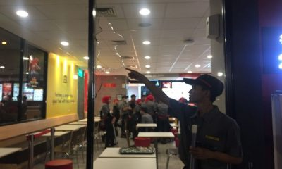 McDonald's di Cilegon Diserang