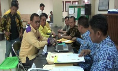 Pendaftaran Bacaleg di KPU Kabupaten Tangerang
