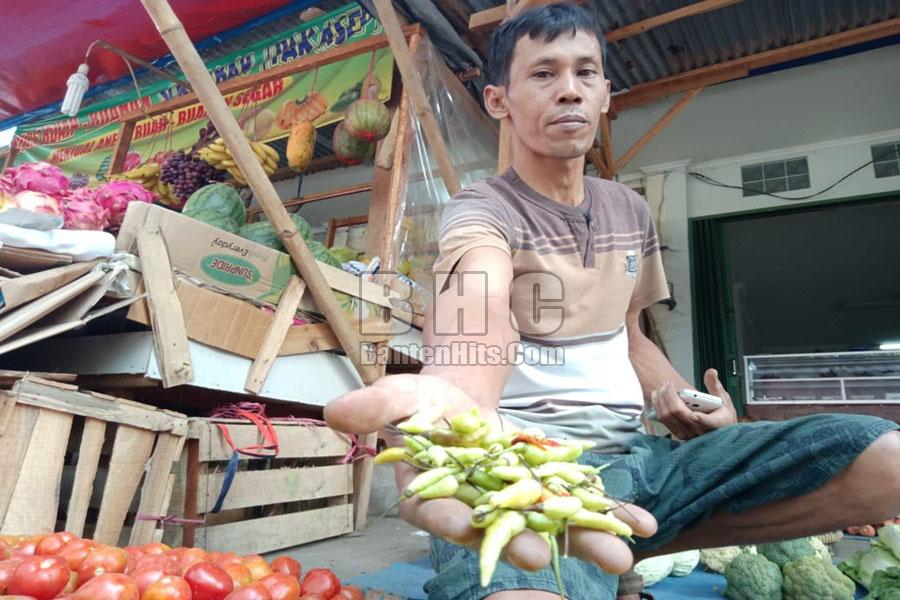 Pedagang Cabai Pasar Kranggot