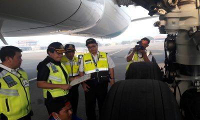 Pemeriksaan Pesawat di Bandara Soetta