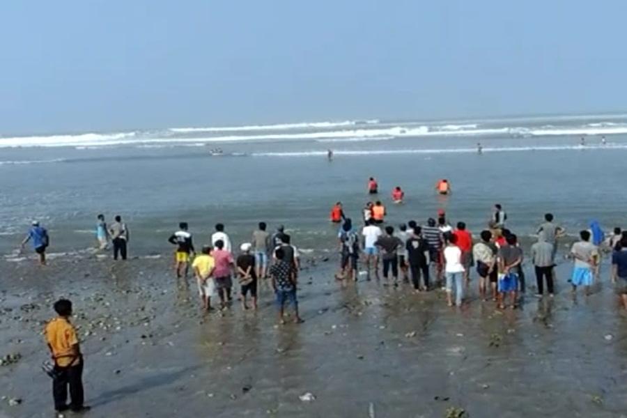 Ilustrasi : Nelayan Tenggelam di Laut (Dok. BantenHits)