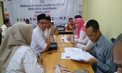 Pendaftaran Bacaleg Kota Tangerang