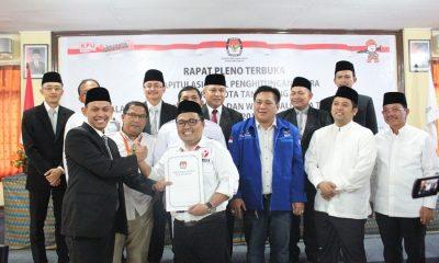 Pleno Pilkada Kota Tangerang