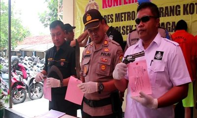 Kawanan Jambret Ditangkap di Teluknaga