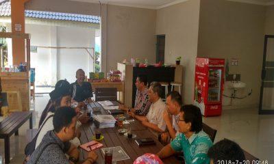 Rapat Persiapan Kemah Api Literasi di Lebak