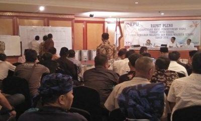 Pleno Rekapitulasi Pilkada Kota Serang