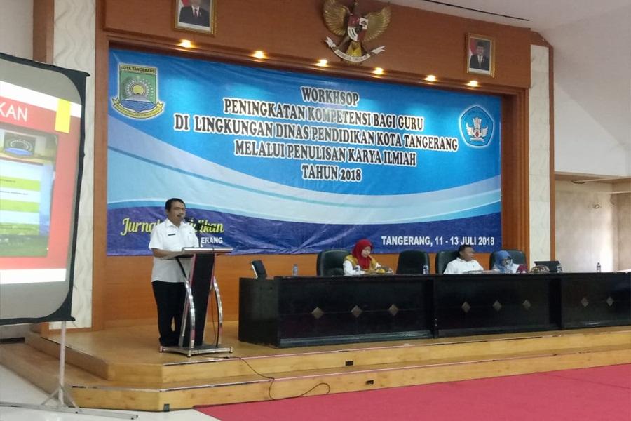 Workshop Jurnal Pendidikan Kota Tangerang