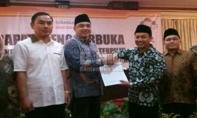 KPU Tetapkan Zaki Bupati Tangerang Terpilih
