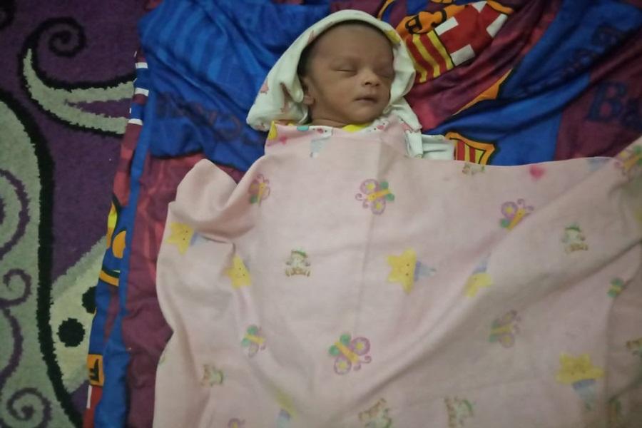 Bayi Ditelantarkan di Kompleks Permata Banjar Asri