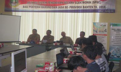 Bimtek SPSE Provinsi Banten