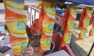 Beras Sachet Mulai Disosialisasikan Bulog di Tangerang