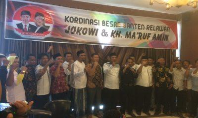 Relawan Jokowi-Ma'ruf Amin