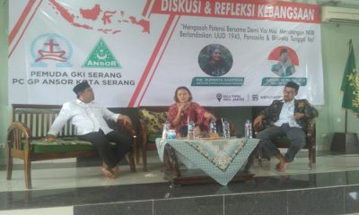 Diskusi Kebangsaan GP Ansor Kota Serang