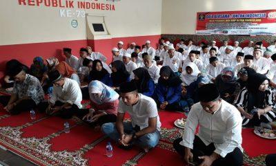 WBP Rutan Pandeglang Doa Bersama