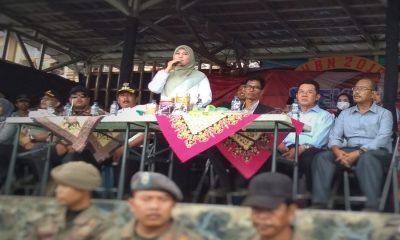 Bupati Pandeglang Irna Narulita Sambutan di PRC