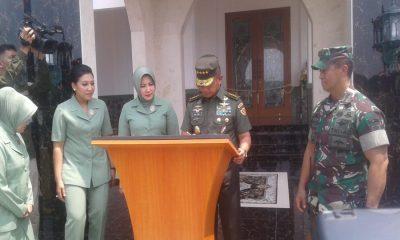Jenderal TNI Mulyono Resmikan Masjid
