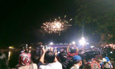 Kembang Api di Festival Cisadane