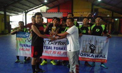 RSUD Adjidarmo Juara Turnamen Futsal