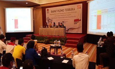 KPU Kabupaten Tangerang Gelar Pleno Rekapitulasi DPT Pemilu