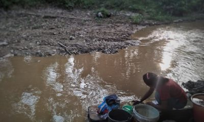 Krisis Air Bersih di Kabupaten Pandeglang Warga Gunakan Air Kotor Sungai Cimoyan