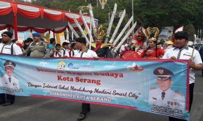 Pawai Budaya HUT Kota Serang