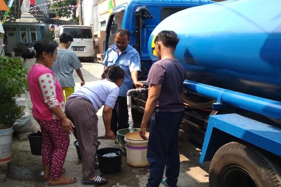 PDAM Tirta Benteng Salurkan Air Bersih