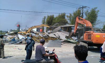 Pengosongan Lahan di Kramatwatu