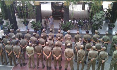 Satpol PP Kota Tangerang Beri Arahan