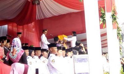 Pelaksanaan Upacara HUT RI ke-73 di Kabupaten Tangerang