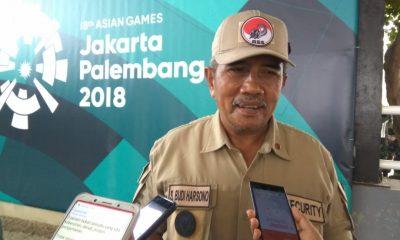 Penanggungjawab Venue Pentathlon Asian Games 2018 Budi Harsono