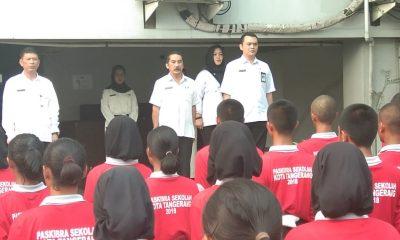 Persiapan Pasukan Pengibar Bendera di Kota Tangerang Sudah 80 Persen