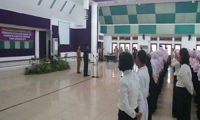 Pengambilan Sumpah PNS di Kabupaten Tangerang