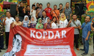 Relawan Jokowi di Banten