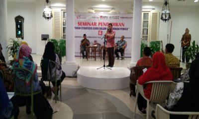Seminar Pendidikan Guru dalam Pemilu di Kota Tangerang