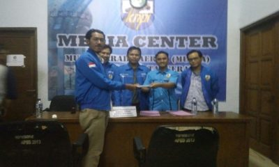 Calon Ketua KNPI Kota Tangerang Daftar