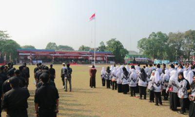 Upacara Kemerdekaan di Kota Tangerang
