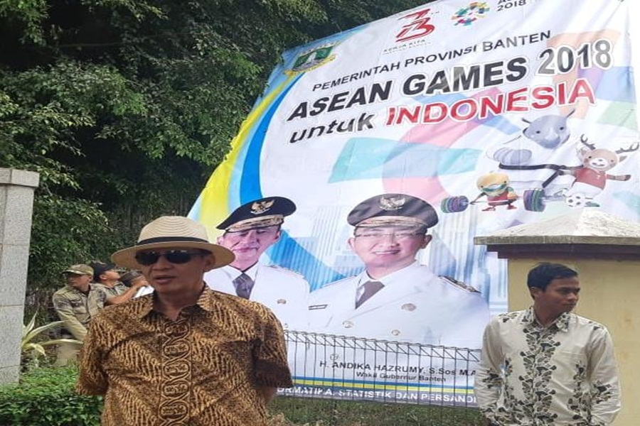Baliho Asian Games Salah Ketik