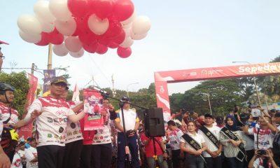 Menkopolhukam Wiranto Buka Sepeda Nusantara