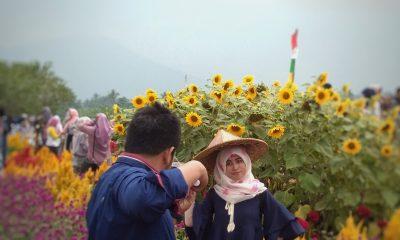 selfie di Kampung Jambu