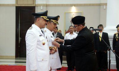 Wahidin Halim Lantik Ahmed Zaki Iskandar