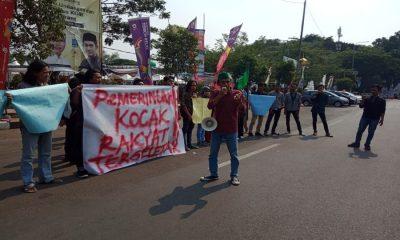 HMI Cabang Serang Kritik Kepemimpinan Jokowi