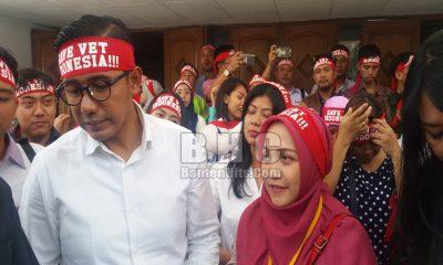 AKSI SOLIDARITAS PERHIMPUNAN DOKTER HEWAN INDONESIA (PDHI) DI PN TANGERANG 17 SEPTEMBER 2018