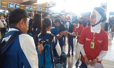 Atlet Asian Games Pulang Melalui Bandara Soetta