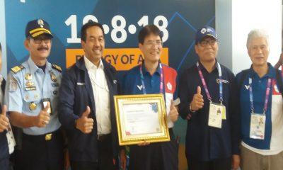 Angkasa Pura II Beri Apresiasi kepada Atlet Asian Games